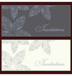 Invitation set vector