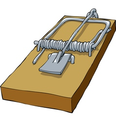 mousetrap vector image