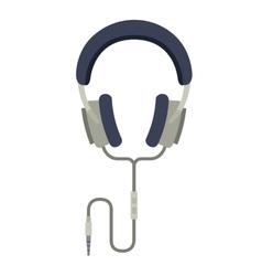 Headphones music isolated icon design vector