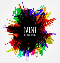 Abstract Paint Splash vector image vector image