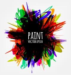 Abstract Paint Splash vector image