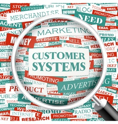 Customer systems vector