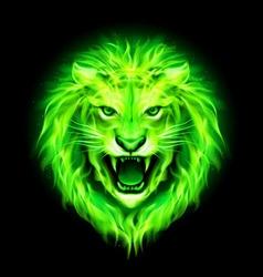 Fair Lion 03 vector image vector image