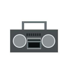 stereo radio music play retro vector image