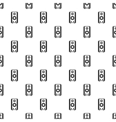 Subwoofer pattern simple style vector