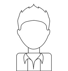 avatar drawn vector image vector image