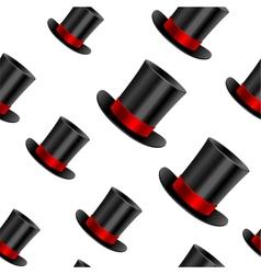 Cylinder hat background vector image vector image