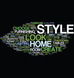 Enhance your home text background word cloud vector
