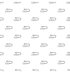 Usb hub pattern simple style vector