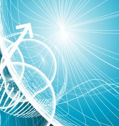 abstract mesh vector image