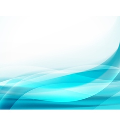 Aqua blue background vector