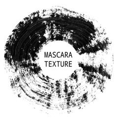 Mascara texture Decorative artistic element vector image