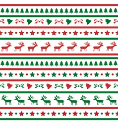 Seamless Christmas background21 vector image