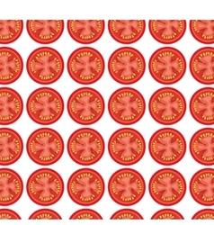 tomato grill invitation pattern background vector image vector image