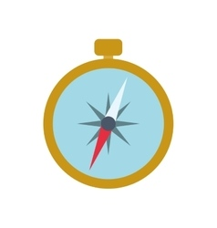 Compass navigation instrument antique icon vector
