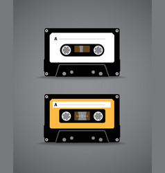 cassette vector image vector image