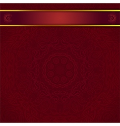 dark red background for invitation vector image