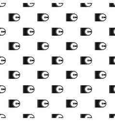 CD pattern simple style vector image