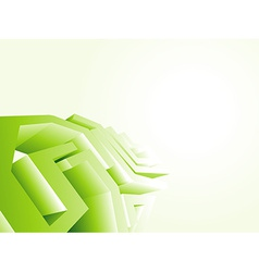 Green technology design wallpaper vector