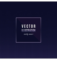 Geometric frame with light effects Party flyer vector image