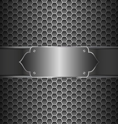 Metal abstract background vector