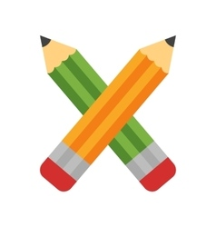 Two pencils vector