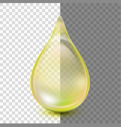 Drop isolated on transparent background eps 10 vector