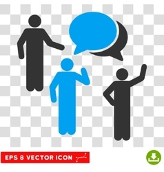 Forum persons eps icon vector