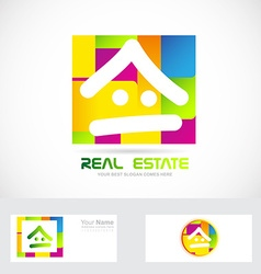 Real estate logo vector