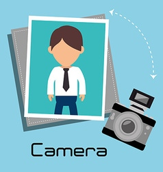 Photography and camera vector