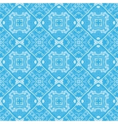 Abstract seamless ornamental pattern vector image