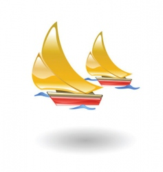 boats illustration vector image