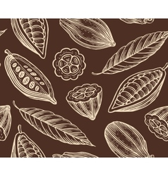 Cocoa pattern vector