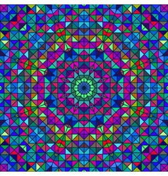 Color Abstract Geometric Pattern vector image vector image