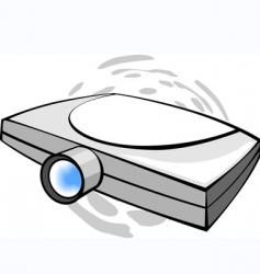 projector vector image vector image