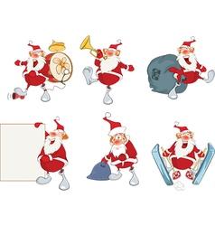 Santa claus for you design vector