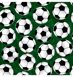 soccer pattern vector image