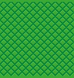 Seamless pattern green tiles vector