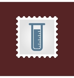 Laboratory medical stamp vector