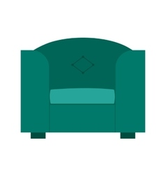 Single sofa vector