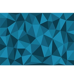 Blue Triangles Background vector image vector image
