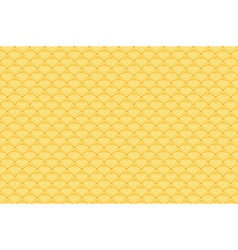 Chinese yellow gold seamless pattern dragon fish vector image vector image