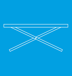 Counter icon outline style vector