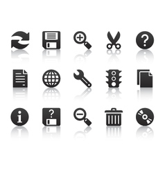 universal software icons vector image