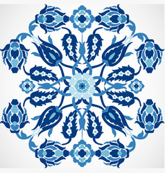 Arabesque vintage damask floral decoration lace vector