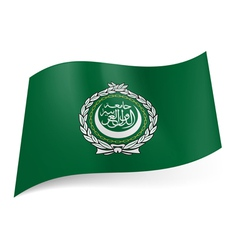 Flag of arab league vector