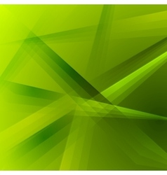 Abstract green shiny striped background vector