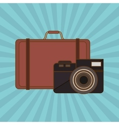 Vacation icon design vector