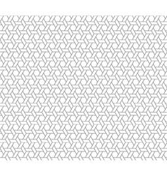 hexagon star seamless background vector image