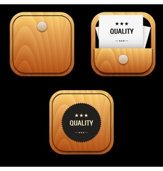 Set Business icon vector image